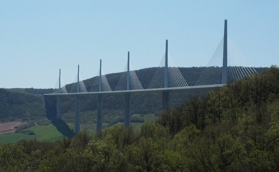 Viadukt bei Millau
