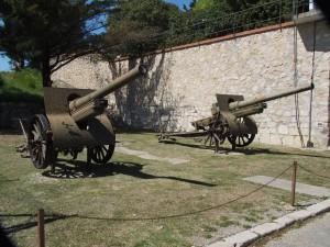 Eingang zum Castillo de San Fernando in Figueres
