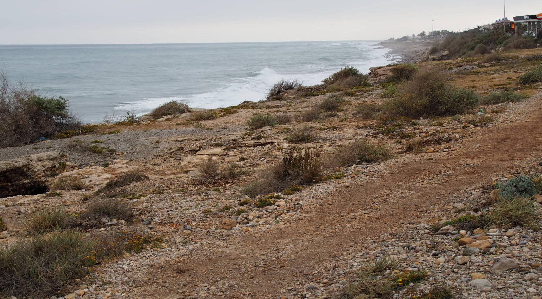 Mittelmeerwellen bei Garrucha/Analusien