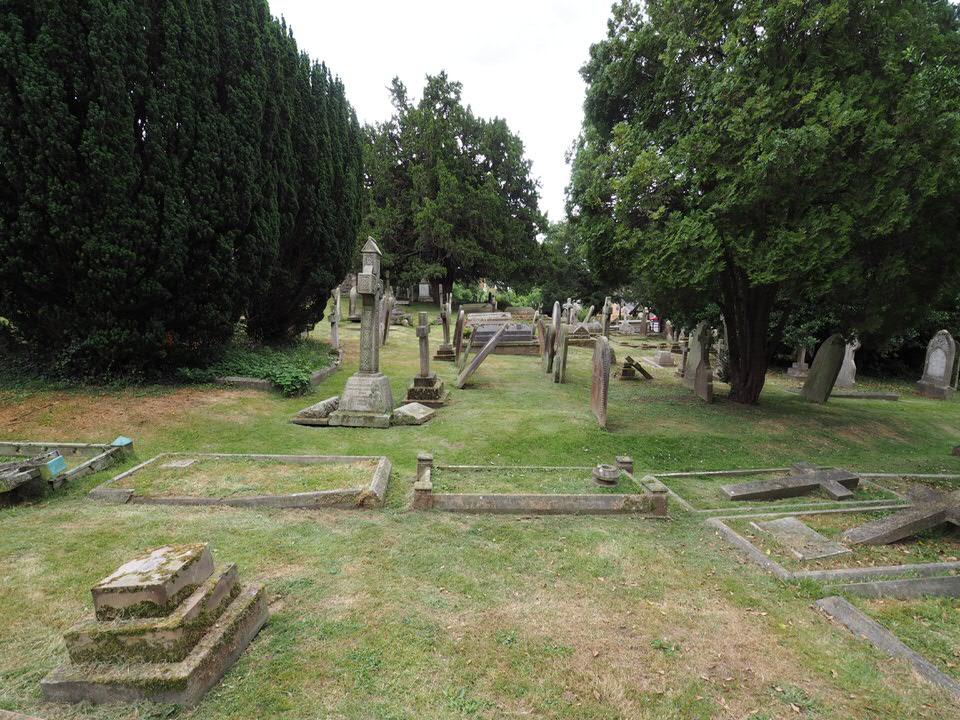 Friedhof der St. Martin's Kirche