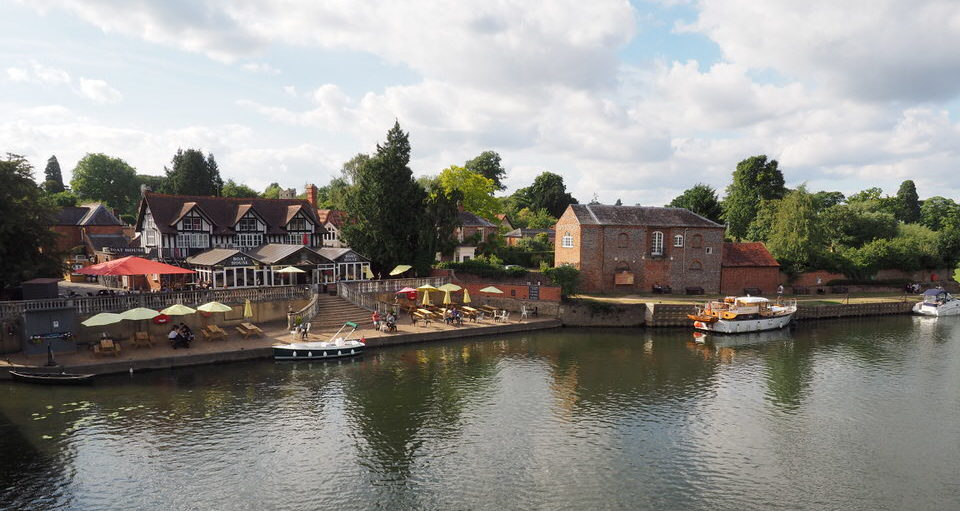 "Pub ""Boat House"" in Wallingford an der Themse"
