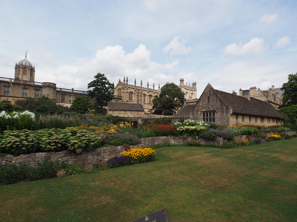 Garten am Christ Church College (1525)