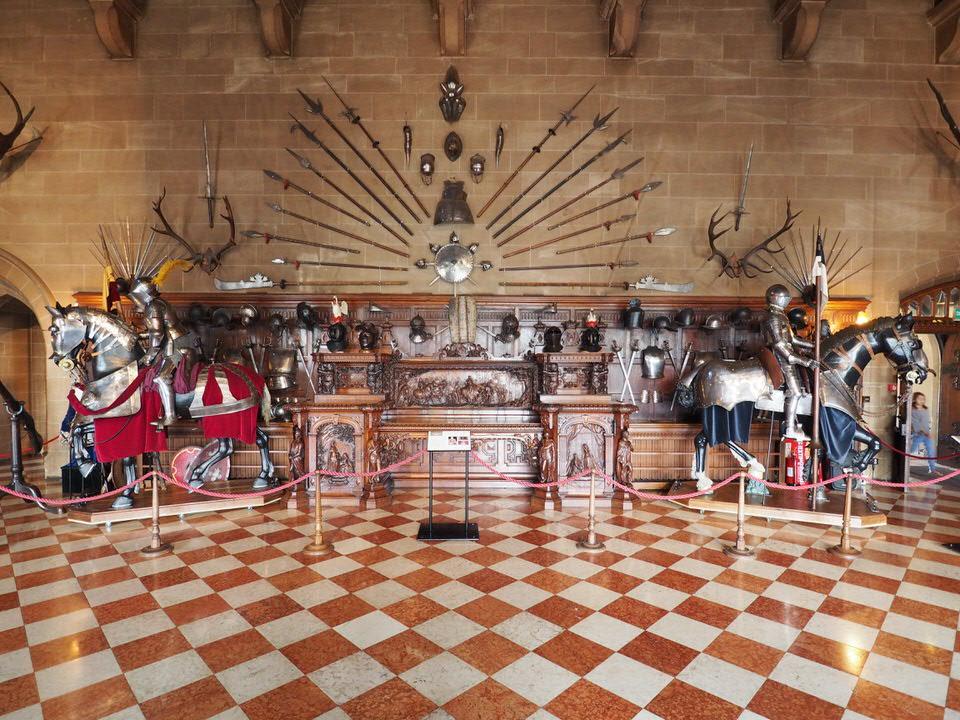 Große Halle Warwick Castle