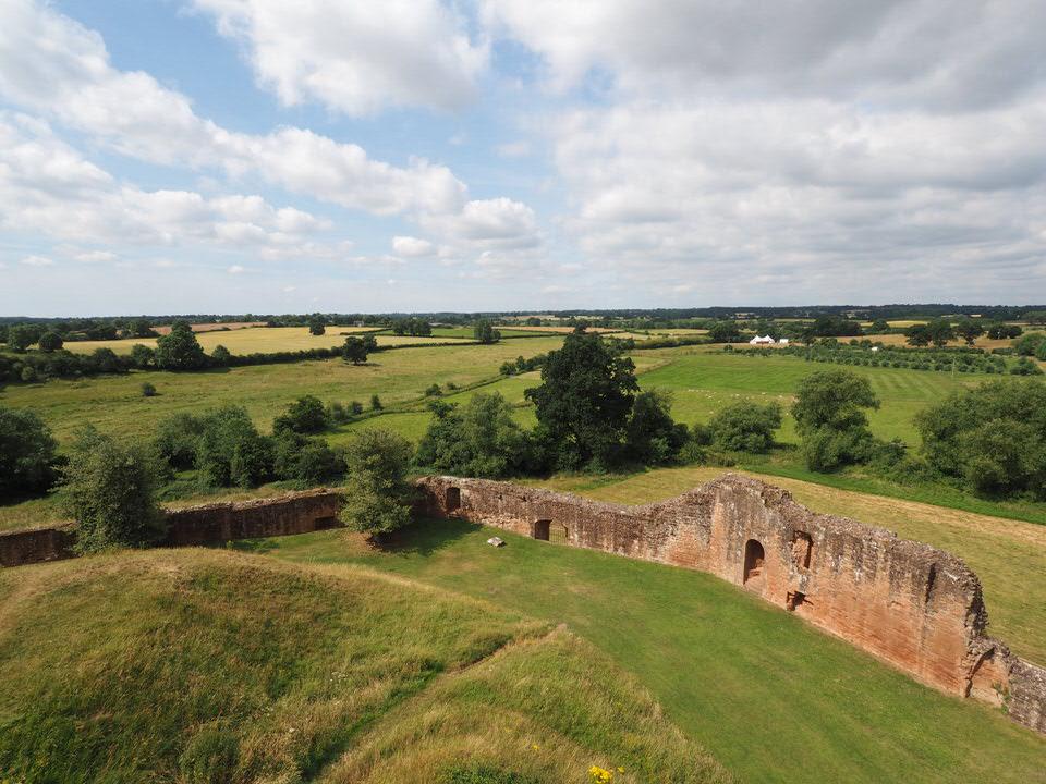 Hinterland von Kenilworth Castle
