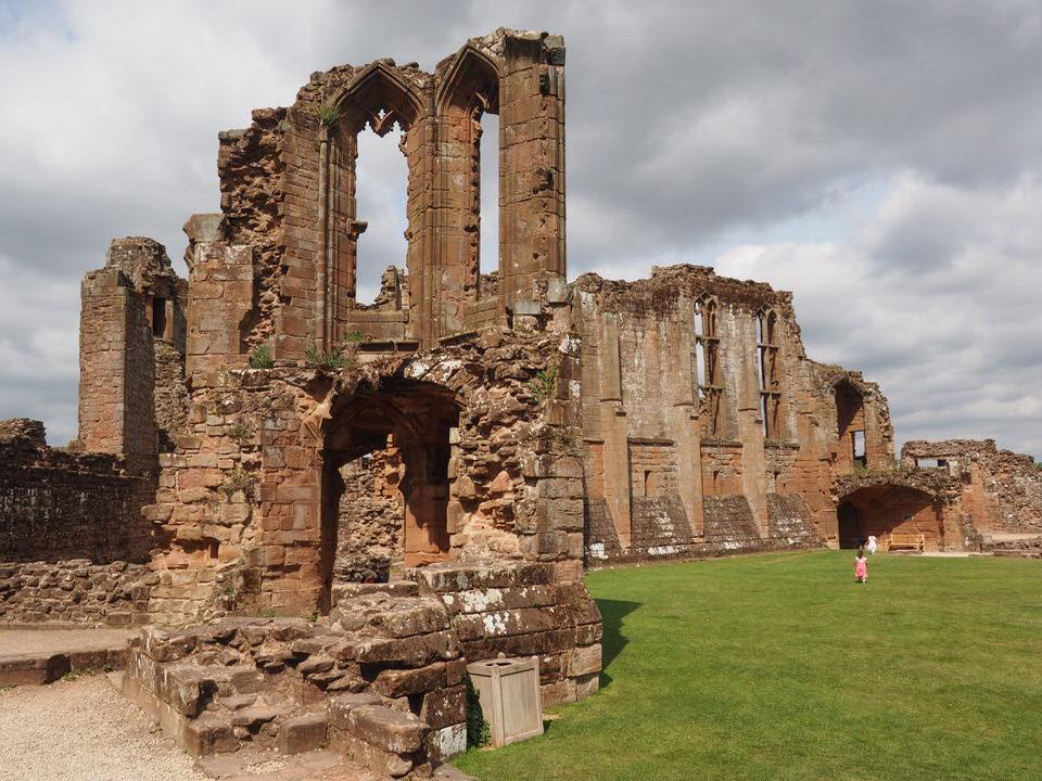 Ruinen von Kenilworth Castle