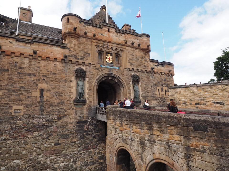 Eingangstor Edinburgh Castle