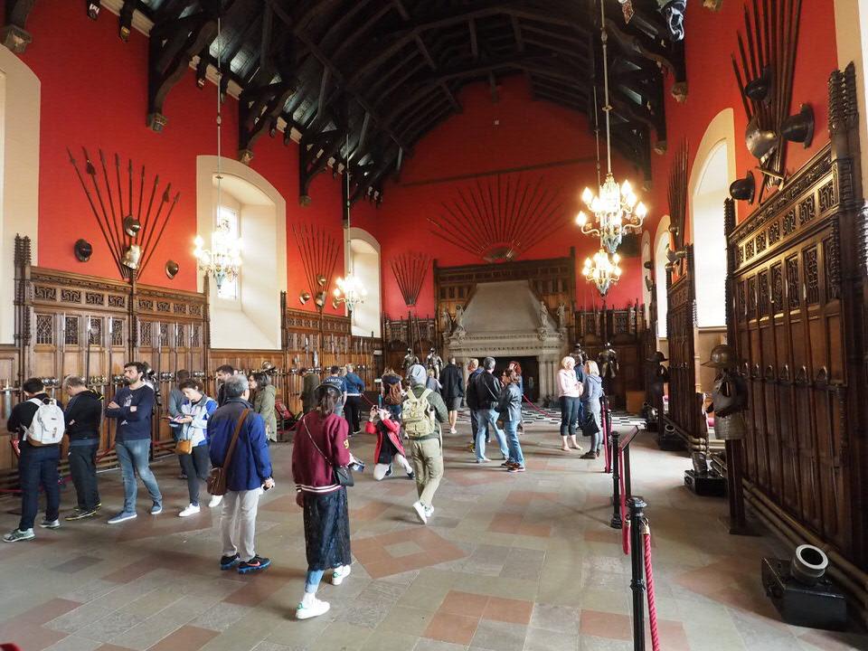 Große Halle im Edinburgh Castle