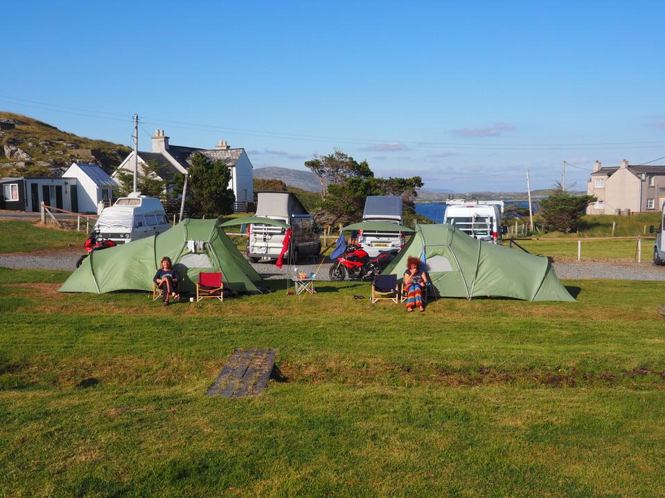 CP Minch View Camp Site