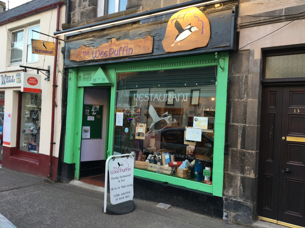 "Restaurant ""The Wee Puffin"" in Grantown-on-Spey"