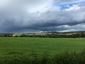 Weg vom CP in den Ort Aberlour
