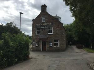 """Whisky Bar """"The Mash Tun"""" in Aberlour"""