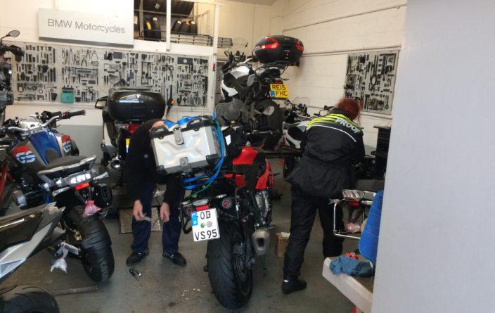 BMW-Werkstatt in York