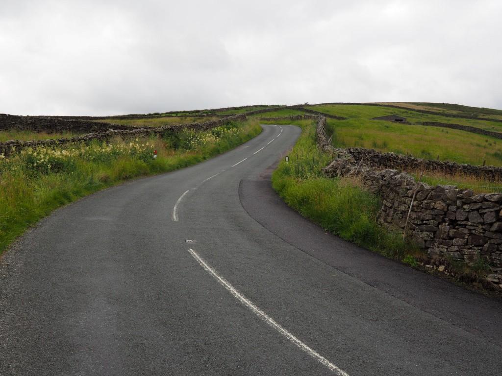Straße  in Nord-Yorkshire