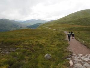 """Weg zum See """"Lochan Meall An T-suidhe"""" am Ben Nevis"""