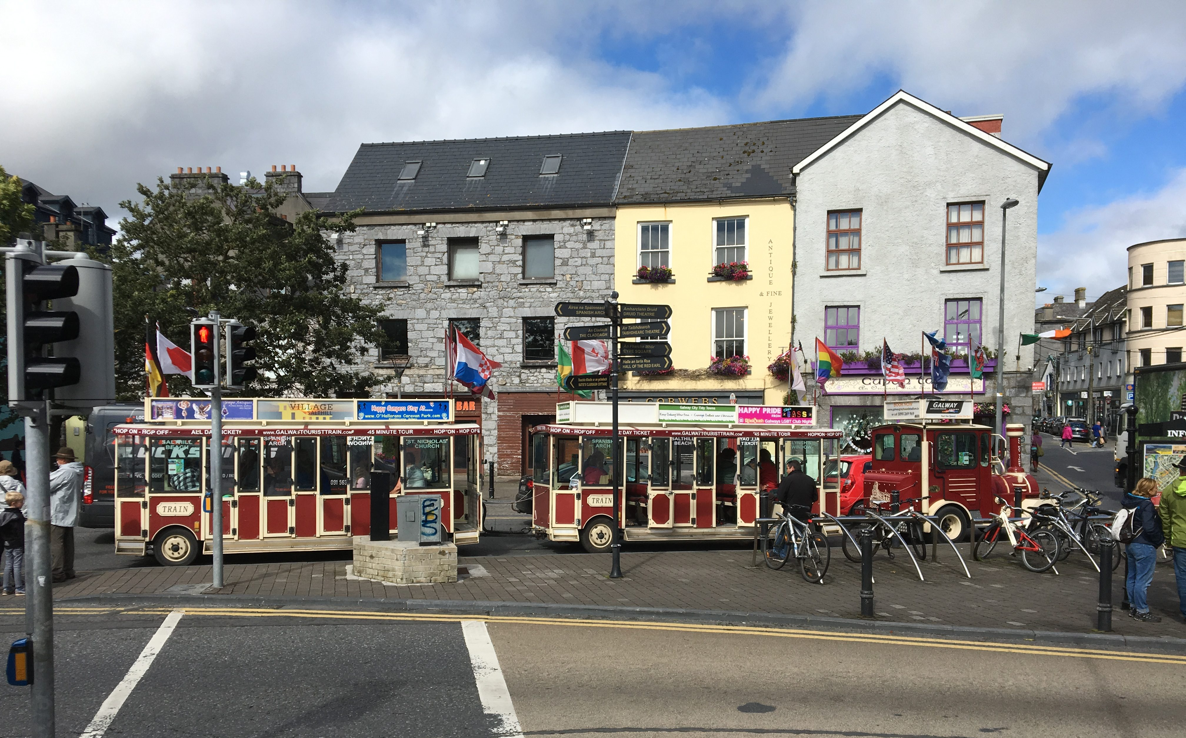 Tourbahn in Galway