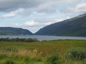 Am Loch Lomond, dem größten See Schottlands