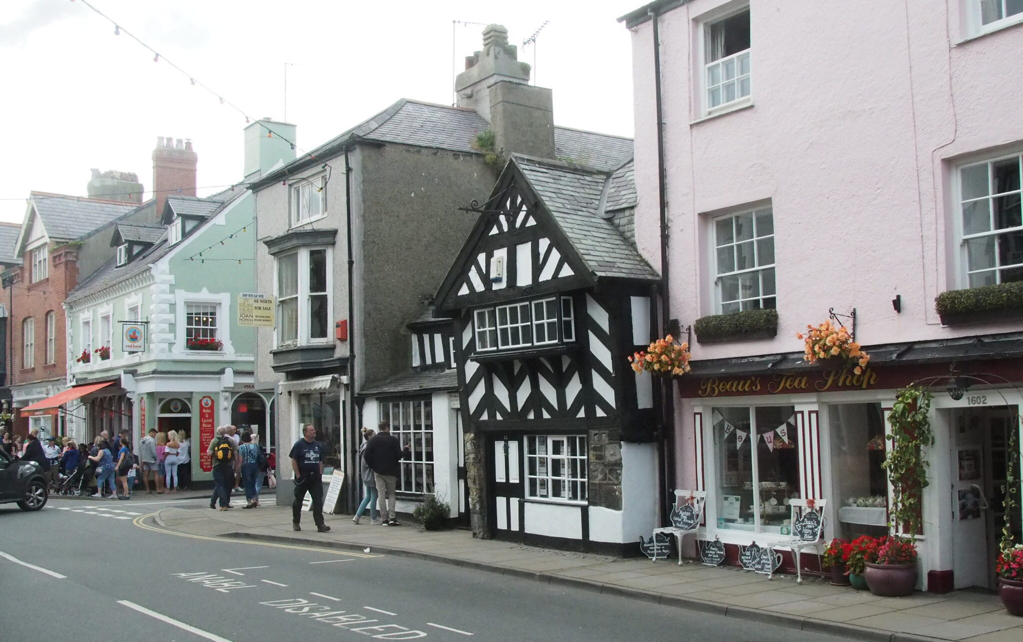 Strasse in Beaumaris
