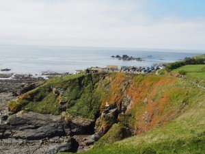Küste von Lizard Point