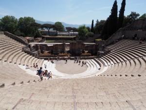 Großes Theater in Pompeji