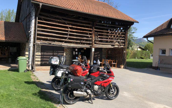 Camping Dolina in Prebold, Slowenien