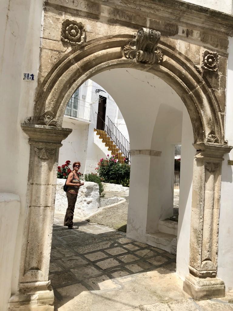 Historischer Hauseingang in Martina Franca