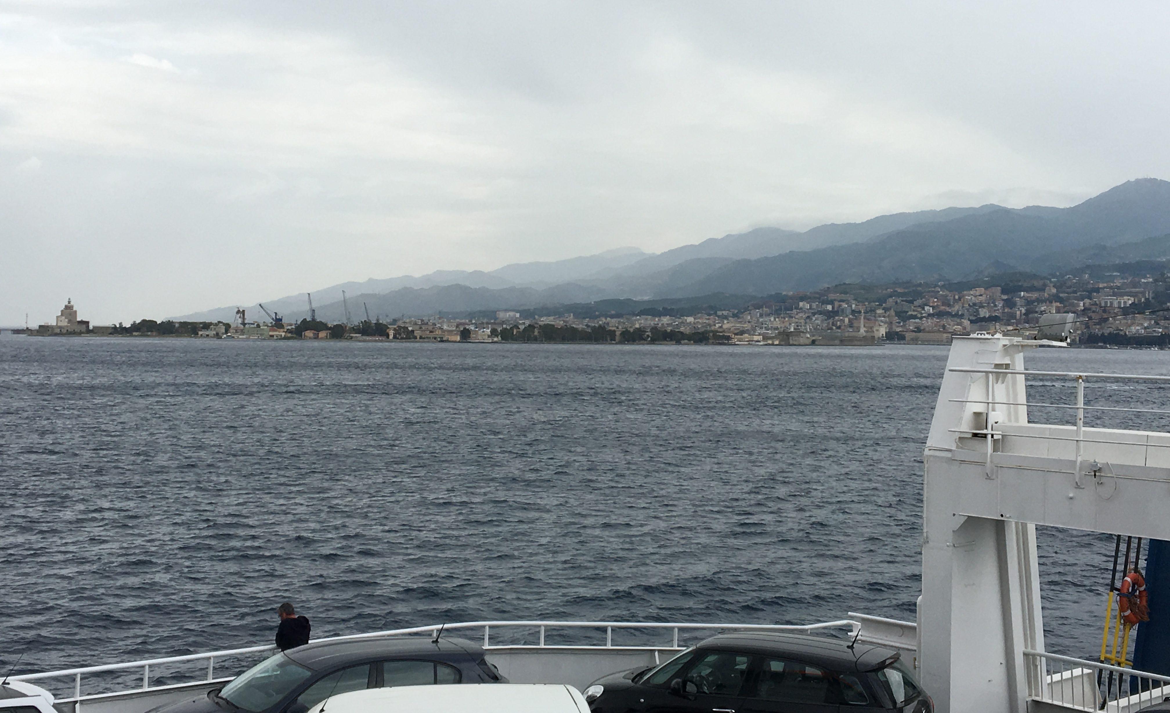 Überfahrt Messina nach Villa San Giovanni