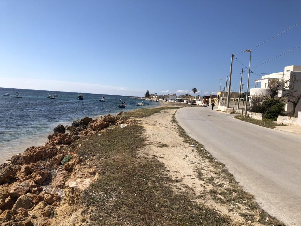 Promenade in Biscione bei Marsala