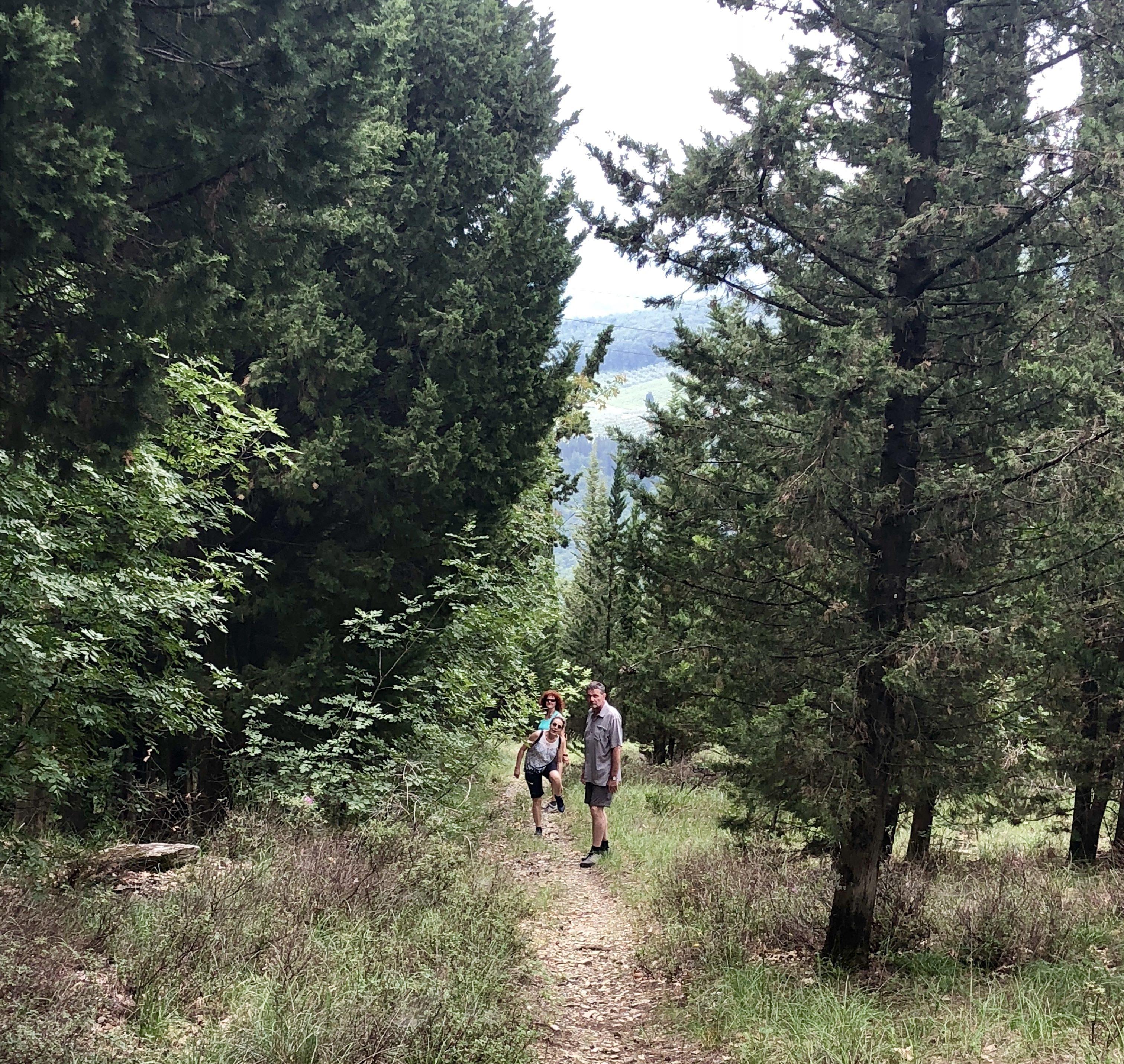 Wanderung um Rufina