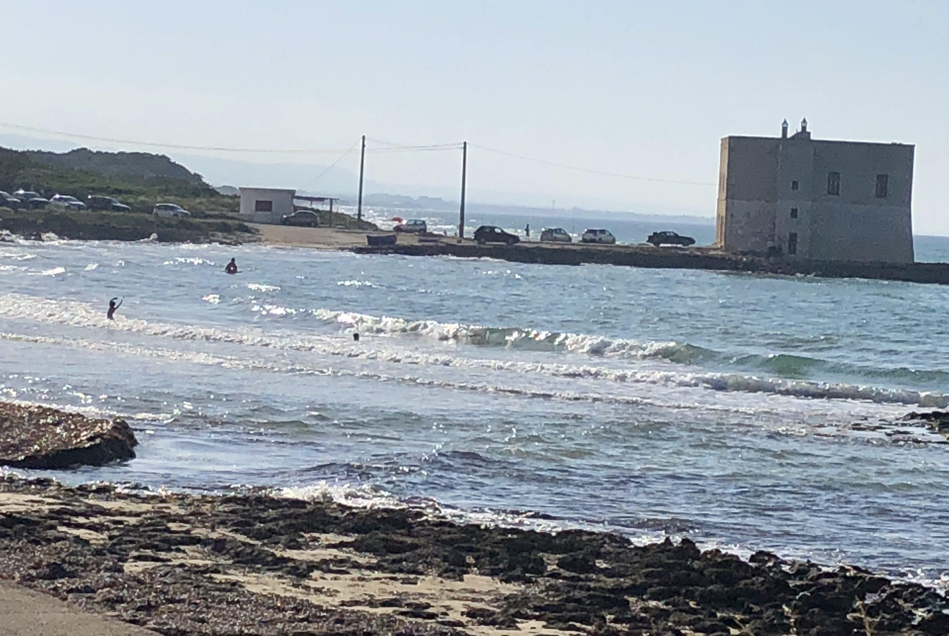 Strand am Camping Pilone an der Adria