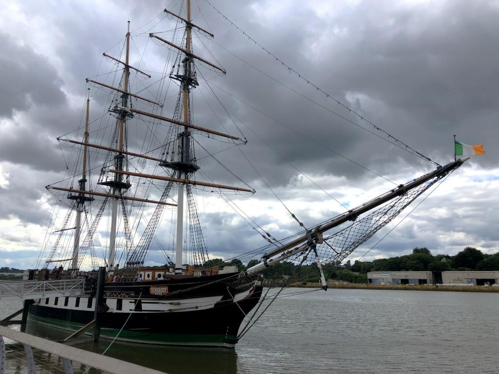 "Auswandererschiff ""Dunbrody"" in New Ross"