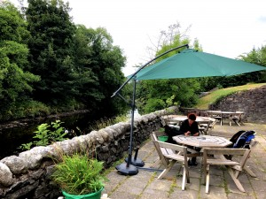 Cafepause in der Wassermühle