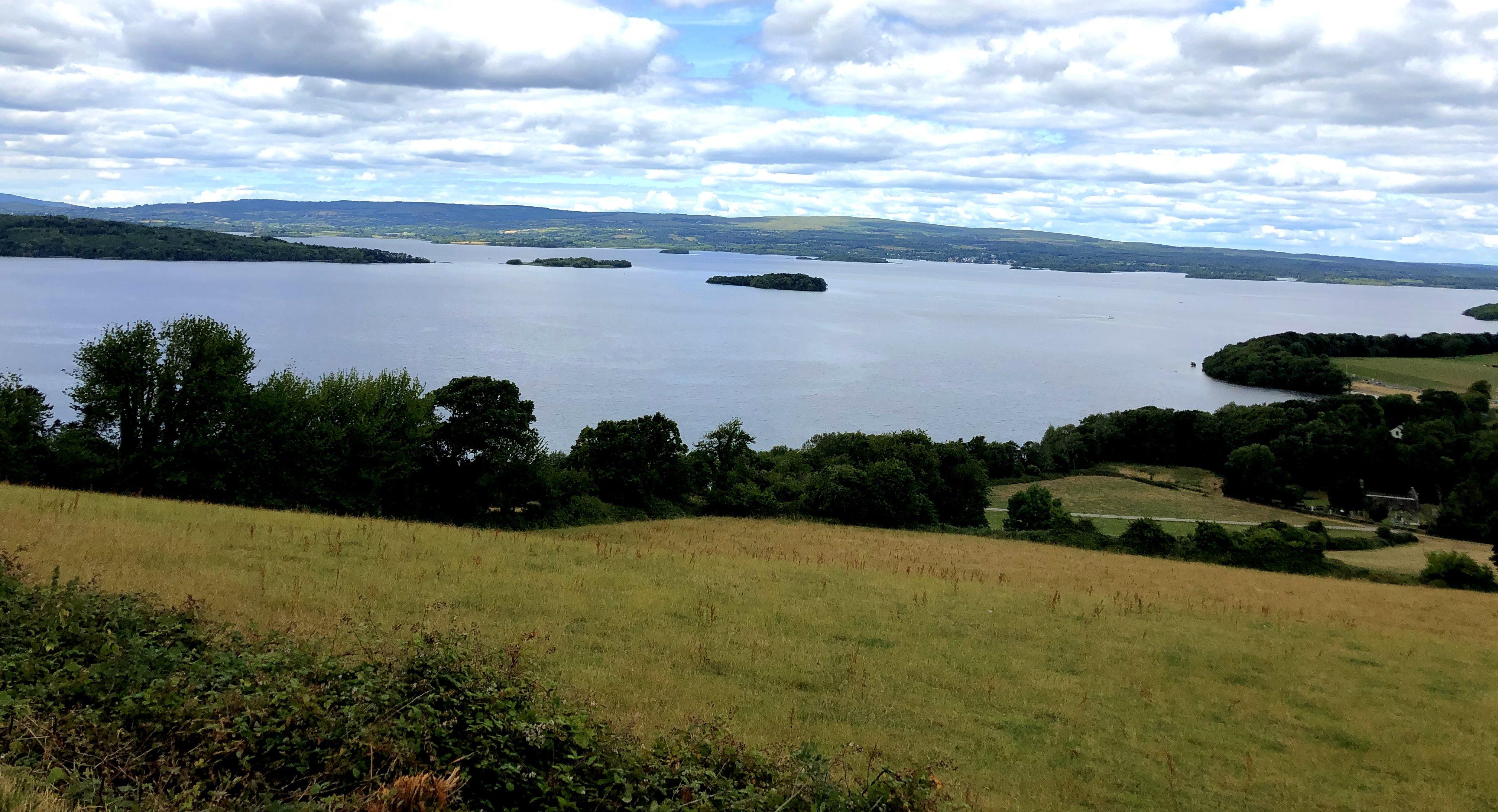 """Blick über den See """"Lough Derg"""""""