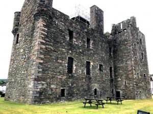 MacLellan's Castle in Kiekcudbright