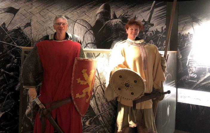 Spaß in King John's Castle in Limerick