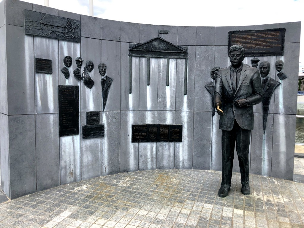 Gedenkstätte an Kennedy-Besuch 1963 in New Ross