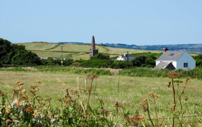 Ehemalige Priory der Insel Caldey