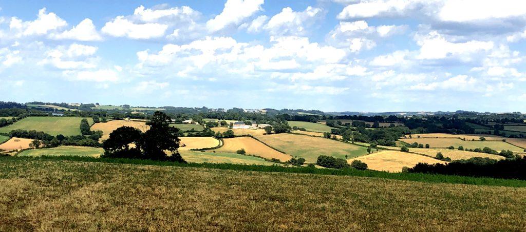 Landschaft nahe Rodez