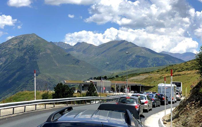 Andorra und seine Staus