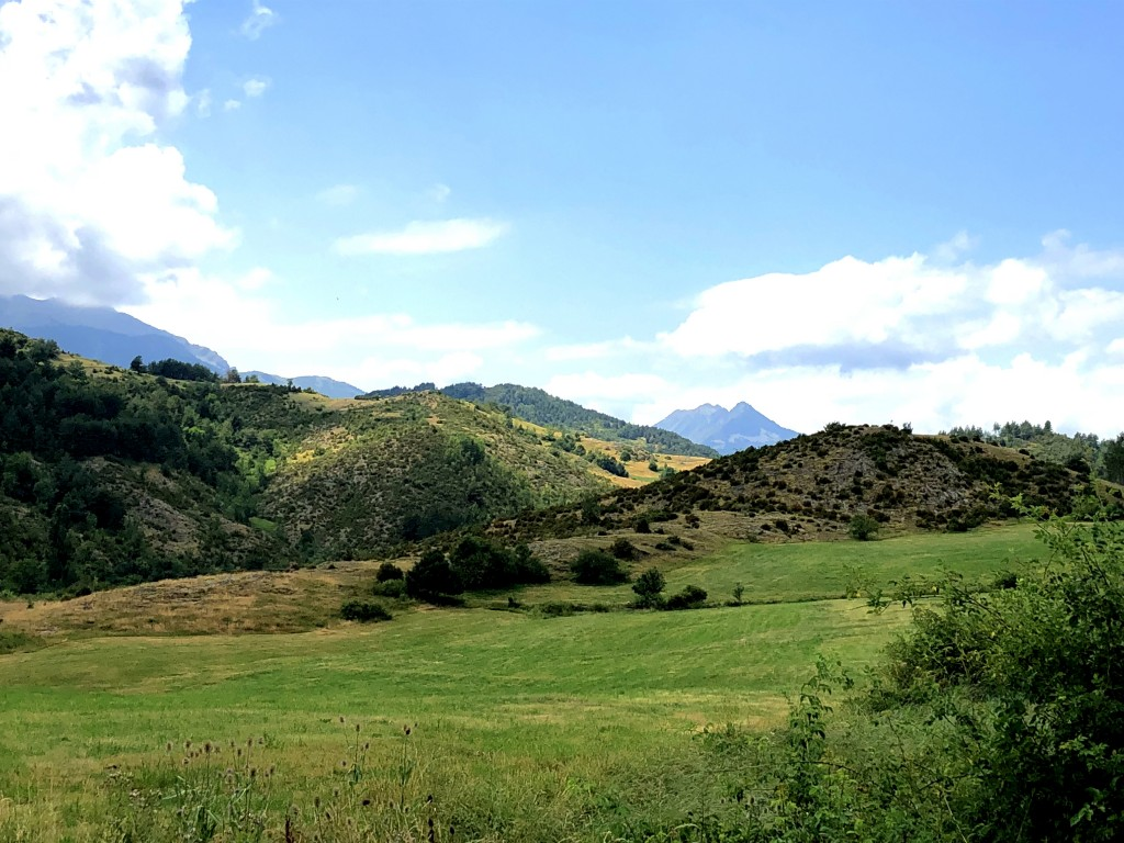 Aussicht am Coll de Espina (1402 m)