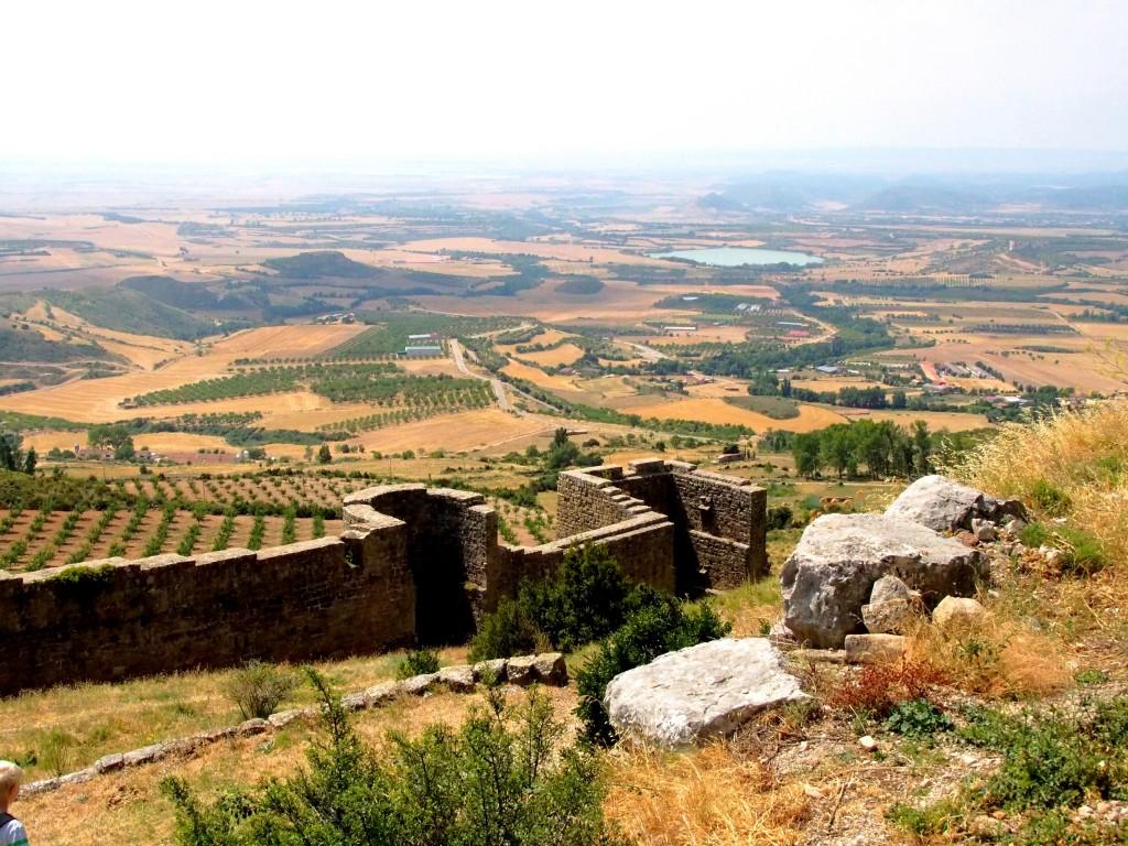 Ebene vor dem Castillo de Loarre