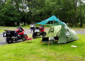 Zelt, Tarp und die Kermits