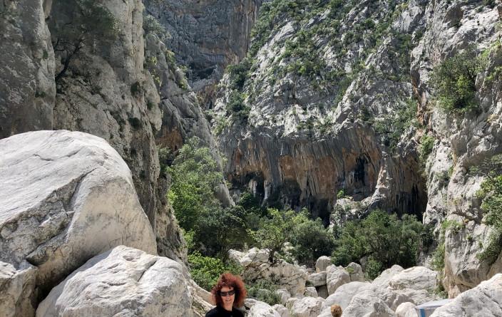 Gola di Gorrapu, eine der größten Klamm Europas