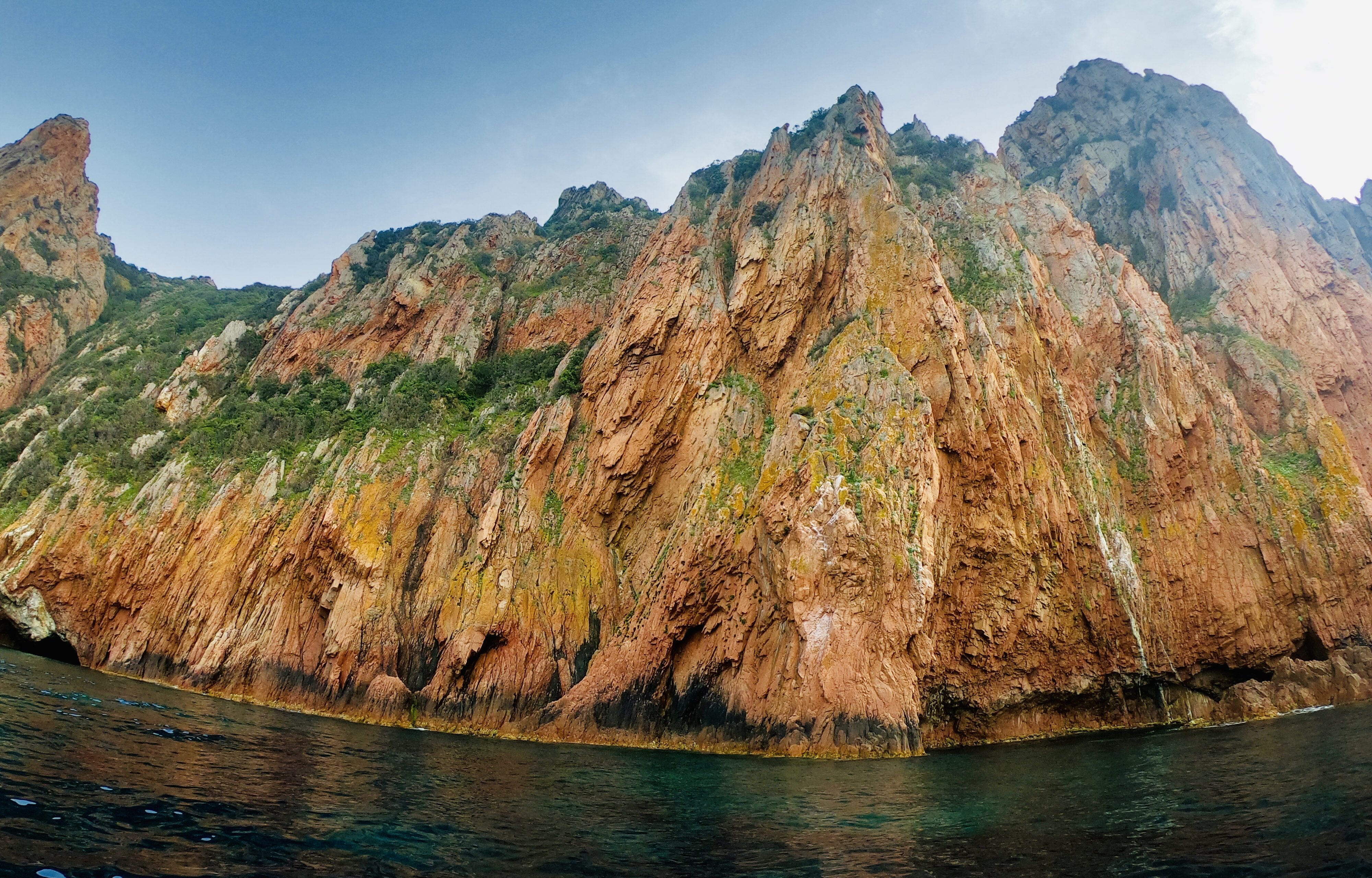 Bootstour zu den Calaques-Felsen und dem Capu Rosso