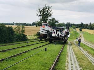 """""""Hebewerk"""" des Oberländischen Kanals"""