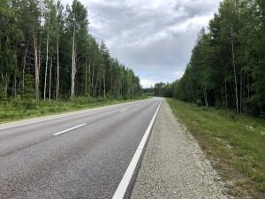 Bei Valgas, kurz vor der Grenze nach Estland