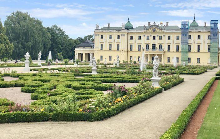 Schlossgarten des Branicki-Palast
