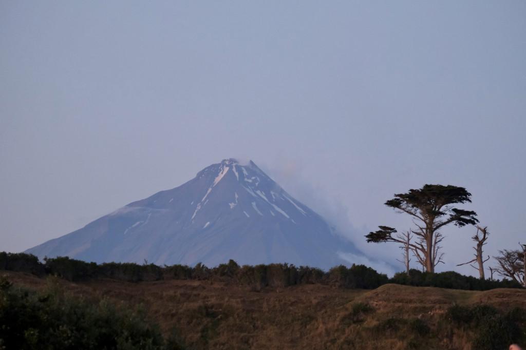 Abendsicht auf den Mt. Taranaki