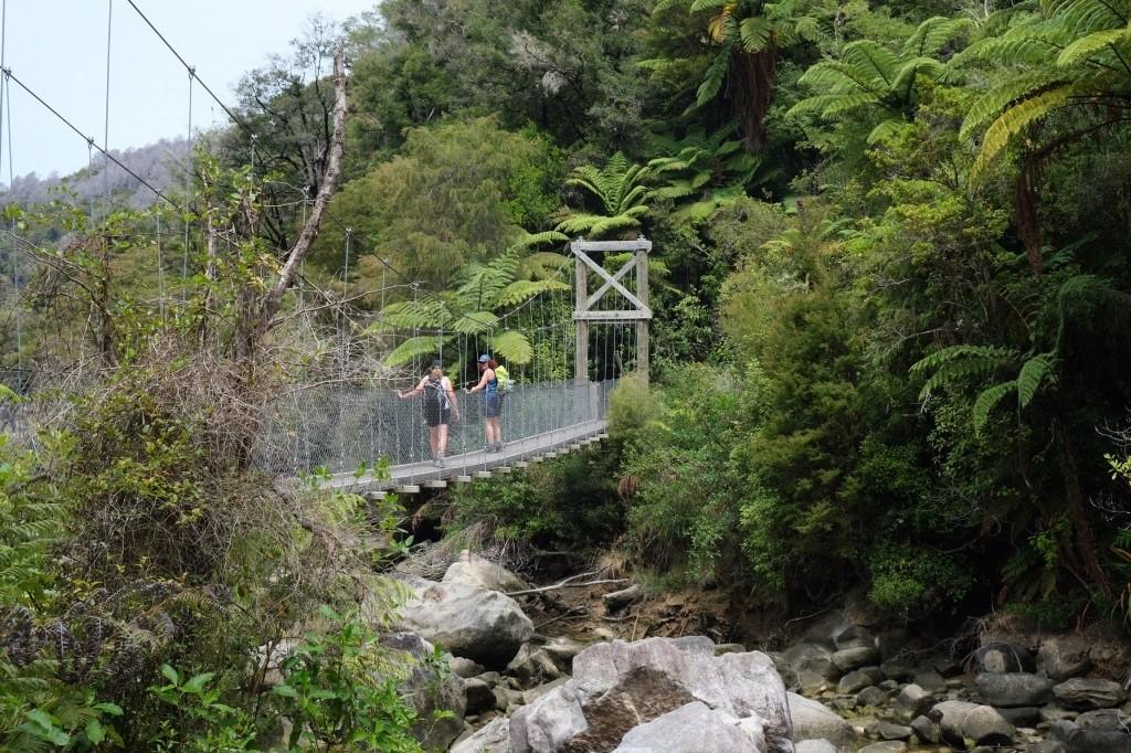 Hängebrücke für max. 5 Personen