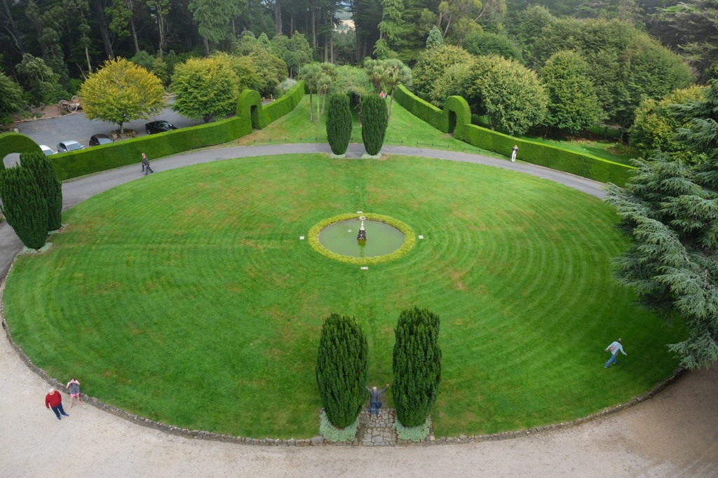 Schlosspark von Schloss Larnach