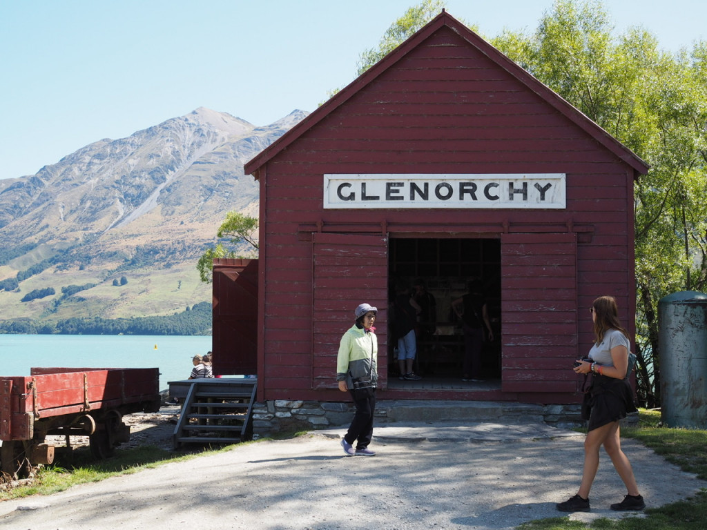 Bootshaus in Glenorchy